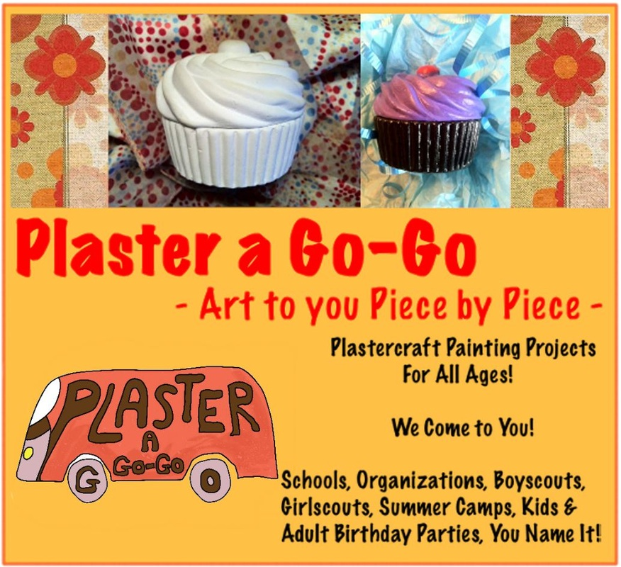 Plaster a Go-go ad
